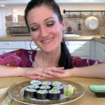 Gurken-Avocado-Maki (vegan)