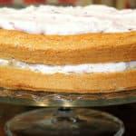 Rezept: Hadntorte mit Grantnschleck/Buchweizentorte mit Preiselbeersahne (glutenfrei)