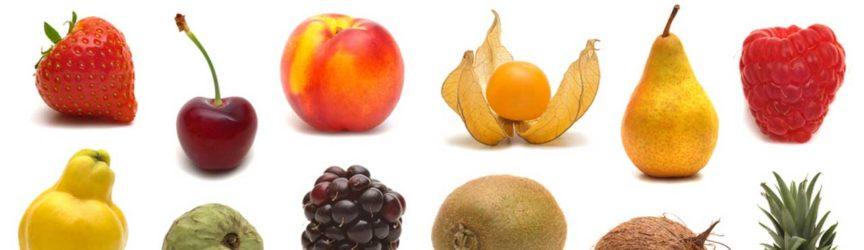 Viele verschiedene Obstsorten