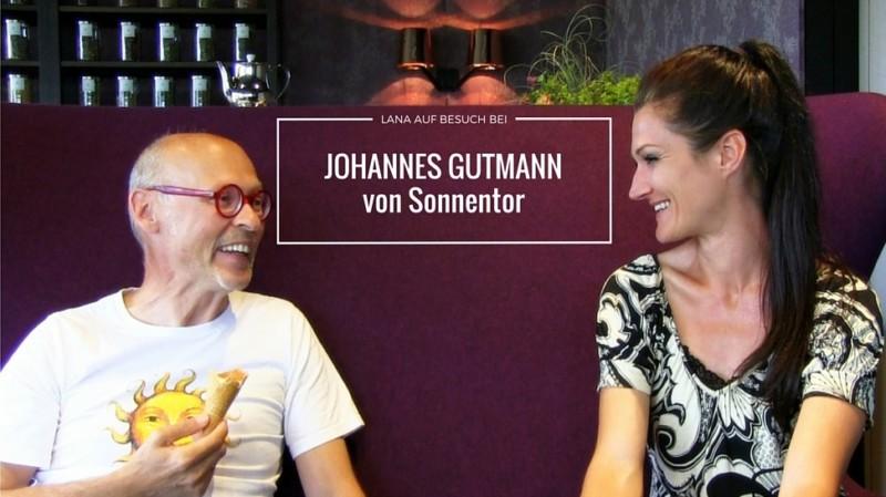 Johannes Gutmann von Sonnentor mit Lana