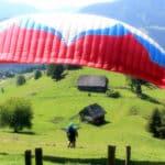 Lana fliegt: Paragleiten/Gleitschirmfliegen in der Steiermark