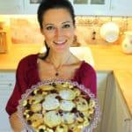Cashew-Cranberry Taler mit weißer Schokolade