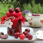 Schoko-Kirsch-Marmelade mit Agar Agar