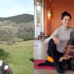 Yoga & Wandern am Berg – zu Besuch im JUFA Knappenberg