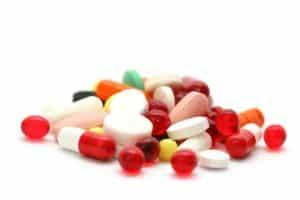 Mehrere Blutdruck senkende Medikamente