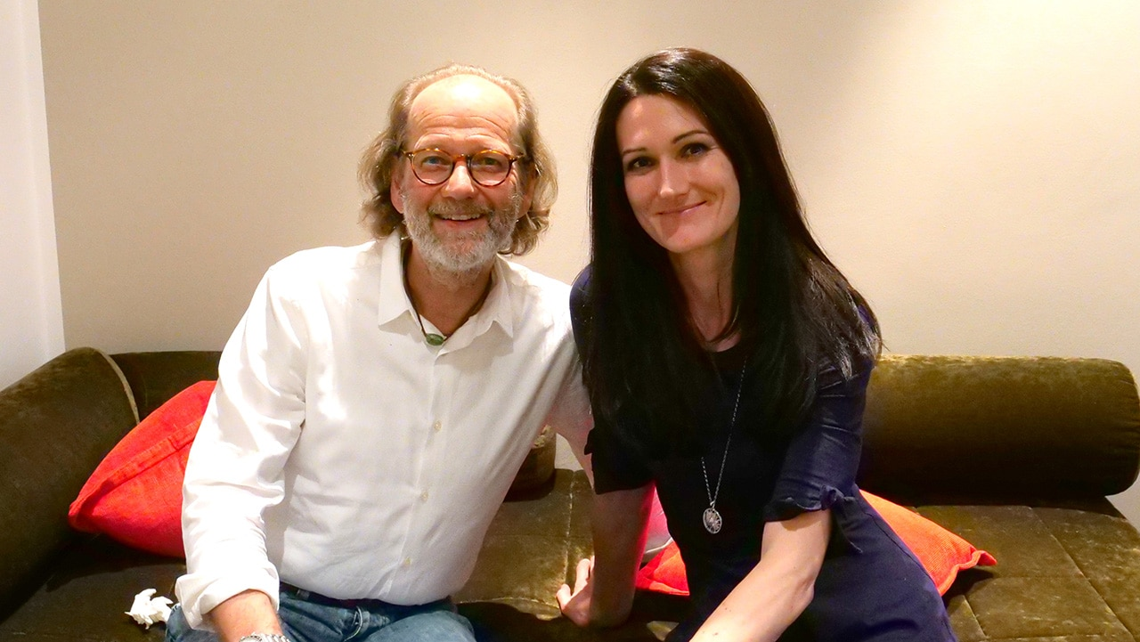 Dr. Rudolf Bolzius mit Sandra M. Exl