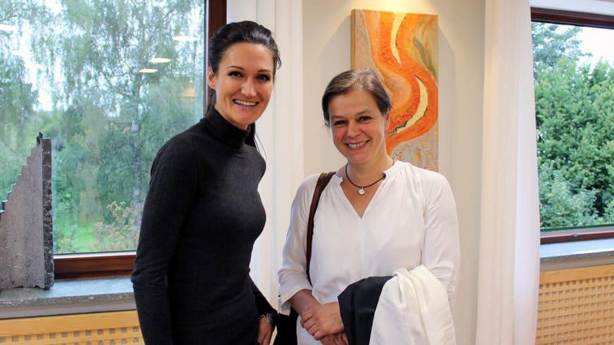 Sandra Exl und Tanja Busse haben sich zum Interview getroffen.