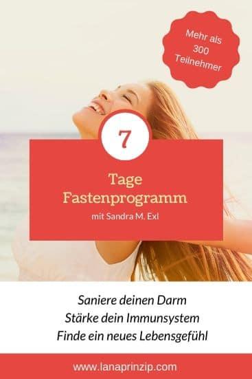 7-Tage-Fastenprogramm mit Sandra Exl