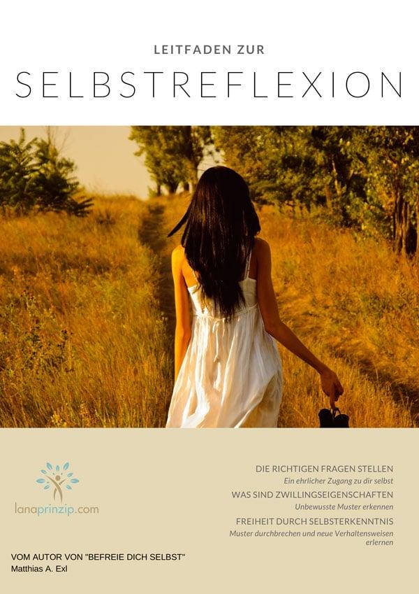 Cover des Leitfaden zur Selbstreflexion