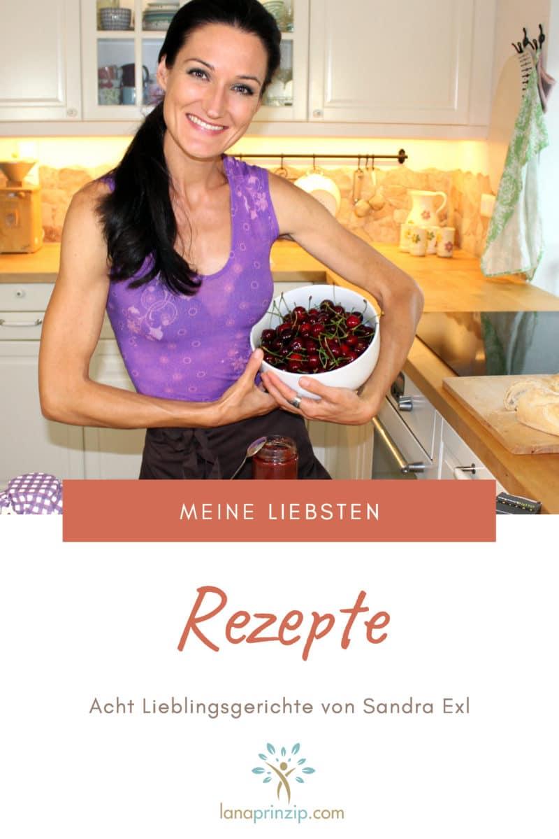 Cover des Booklets Meine Lieblingsrezepte von Sandra Exl