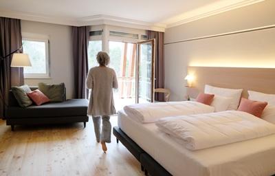 Ein Zimmer im Kurhaus Marienkron