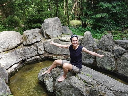 Sandra Exl im Moorwald in Bad Leonfelden