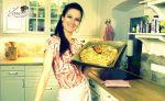 Osterkranz Rezept mit Topfen-Pistazien-Füllung